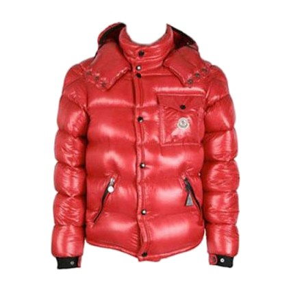 Moncler Christmas Edition Down Red Jacket Men