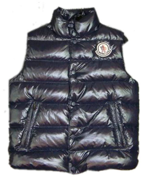 Moncler Clairy Down Vest Men Sleeveless Black