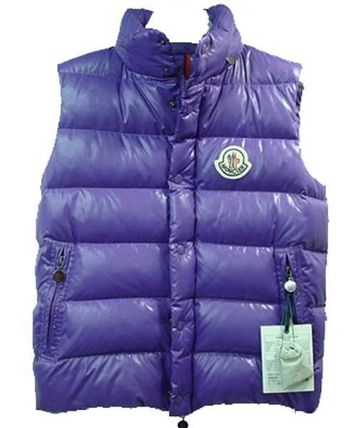 Moncler Clairy Down Vest Mens Sleeveless Blue