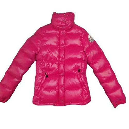 Moncler Clairy Down Dark Pink Jacket Women