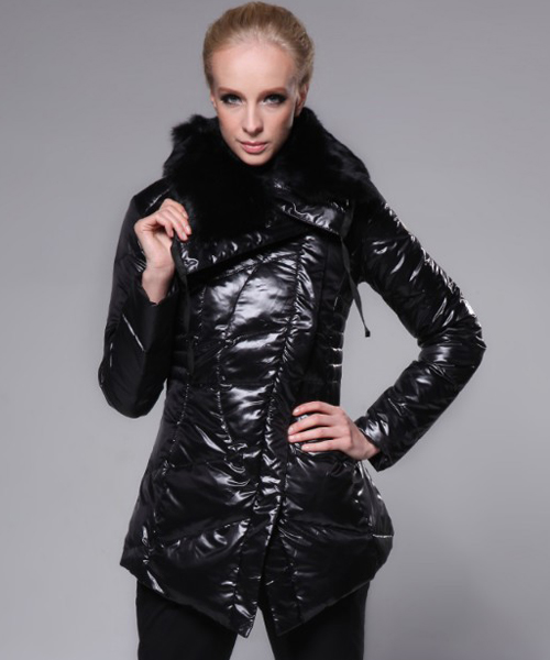 Moncler Coat Women Fashion Black