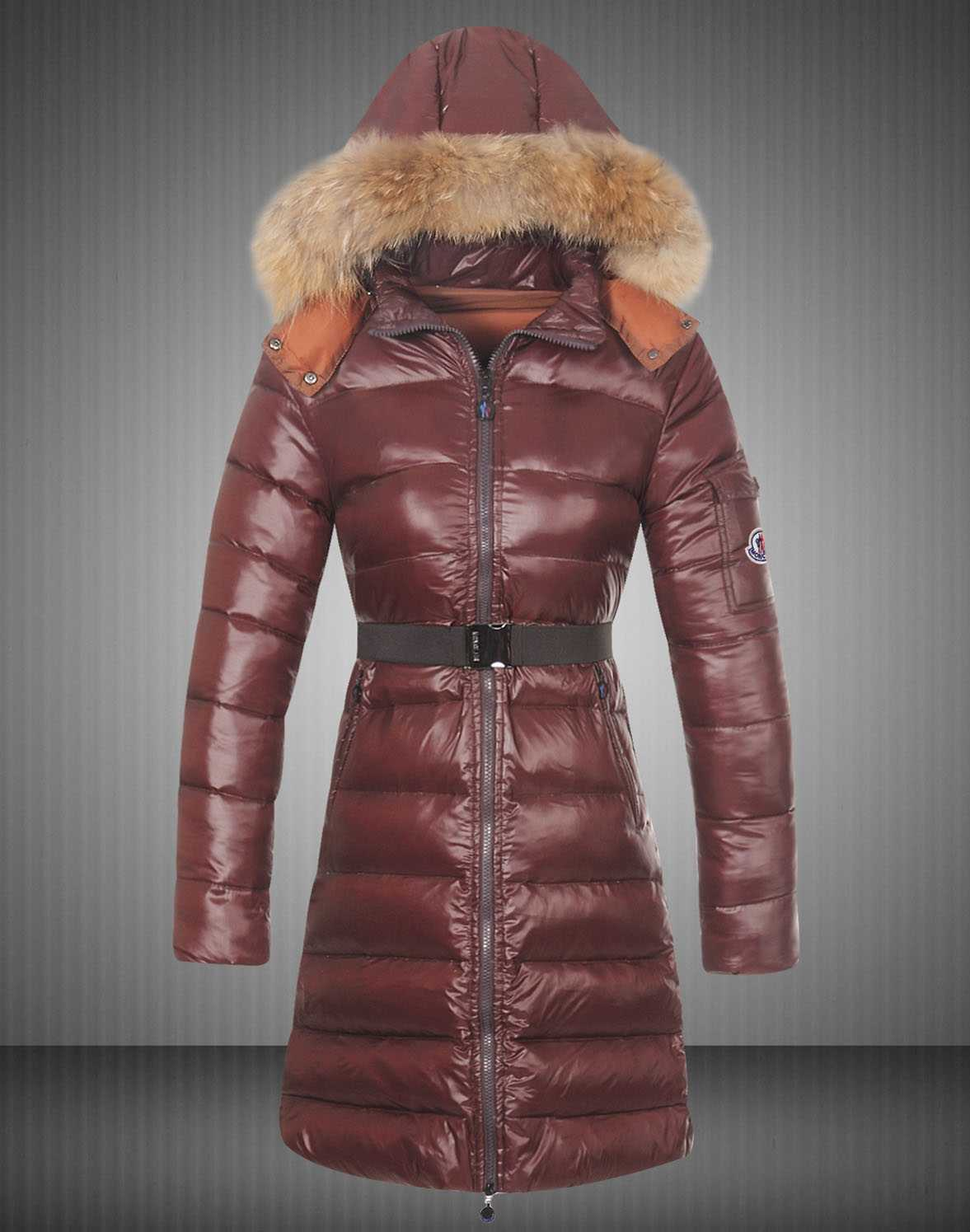 Moncler Coats Coffe 2021