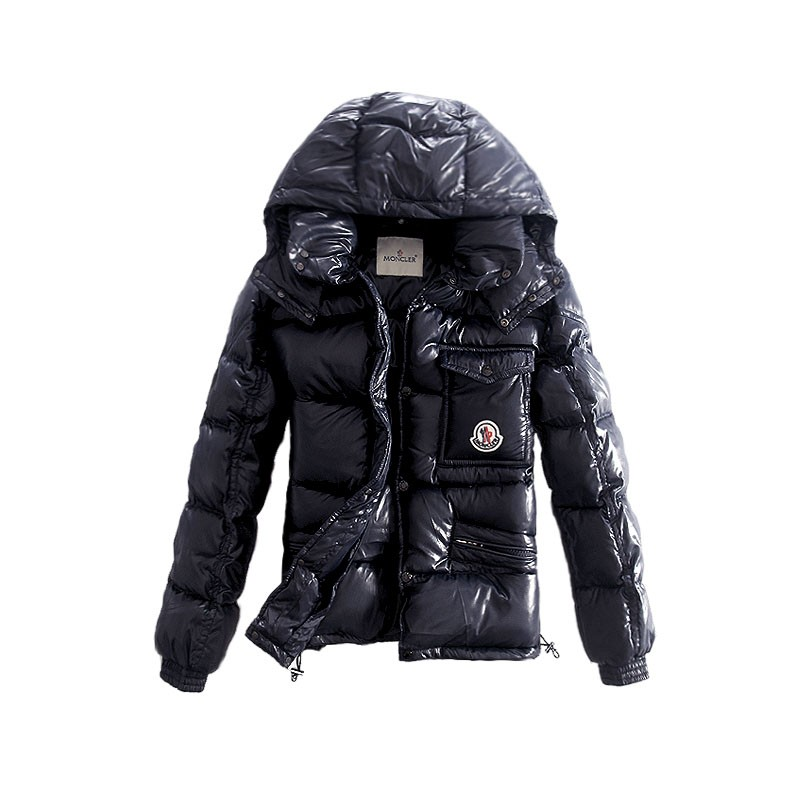 Moncler Columbus Down Black Jacket Men