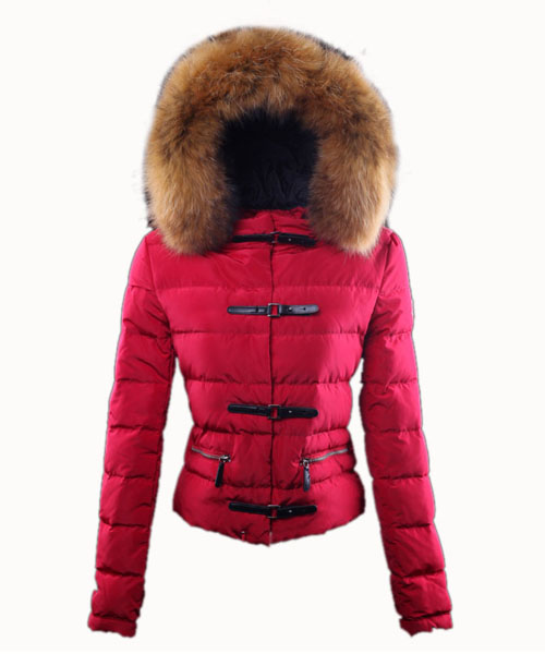 Moncler Crecerelle Down Jacket Women Red