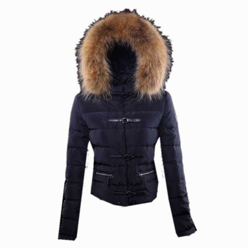 Moncler Crecerelle Down Jackets Women Black