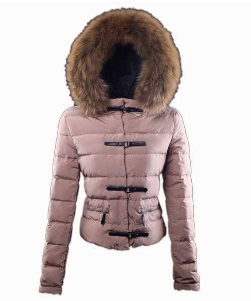 Moncler Crecerelle Down Jackets Women Pink