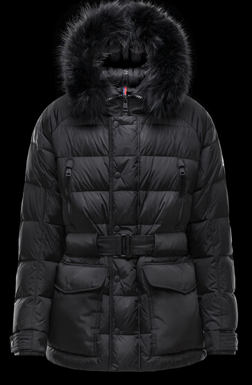 Moncler DYLAN Long Sleeve Men Coat Black