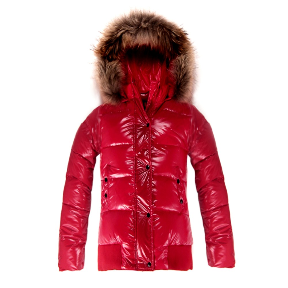 Moncler Donna Alpin Bomber Red Jacket Women