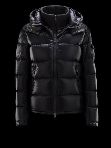 Moncler Down Jacket Zin Men's Hooded Jacket Blue