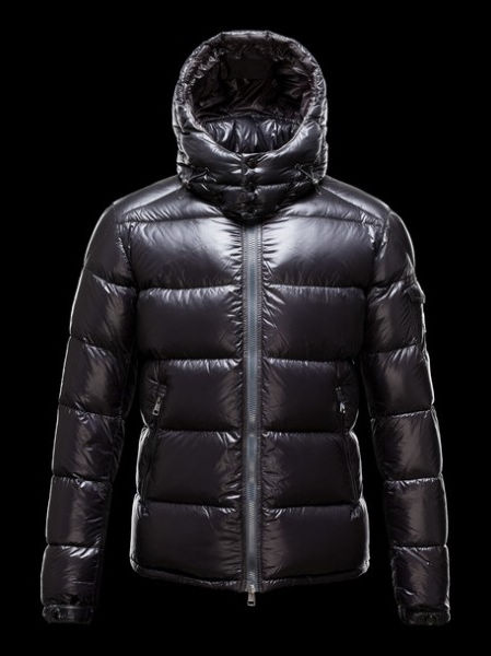 Moncler Down Jacket Zin Men's Hooded Jacket Black