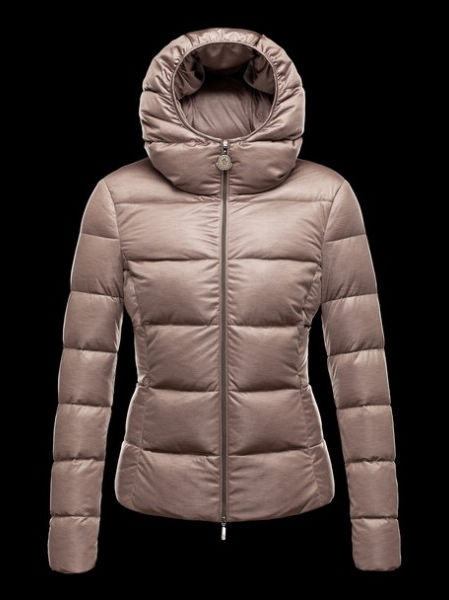 Moncler Women Down Jacket Jersey Tanne