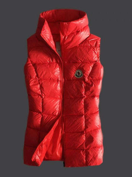 Moncler Women Down Jacket Red