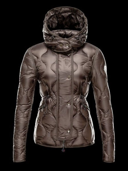 Moncler Down Jackets Women Hooded Marmot Black