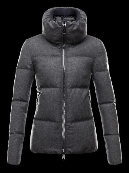 Moncler Jackets Women Chery Winter Coat Gray