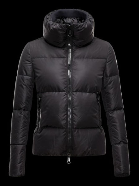 Moncler Jackets Women Chery Winter Coat Black