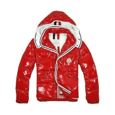 Moncler Down Branson Doudoune Red Jacket Men