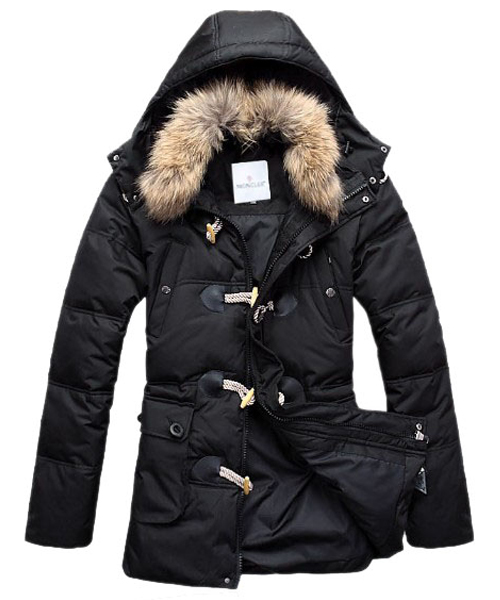 Moncler Down Coat Men Elegance Black