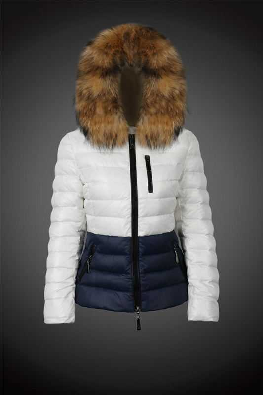 Women's Moncler Down Coats With Fur Cap 2017