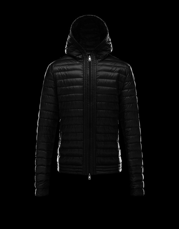 Moncler Down Jackets For Men Short Black