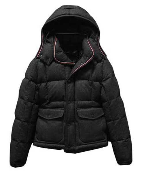 Moncler Down Jackets Mens Dublin Collar Pocket Short Black