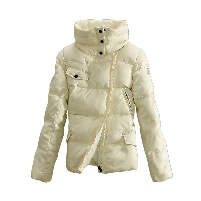 Moncler Down White Jacket Women