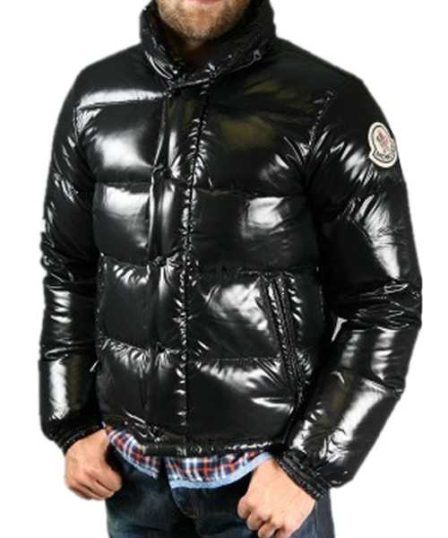 Moncler Everest Classic Winter Mens Down Jackets Zip Collar Blac