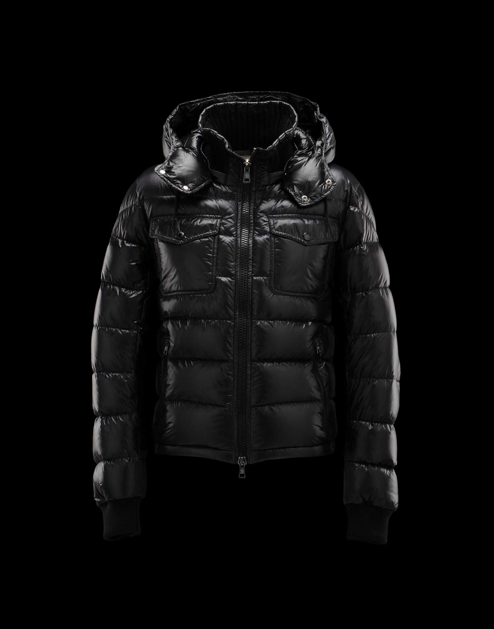 Moncler FEDOR Featured Down Jackets Mens Black