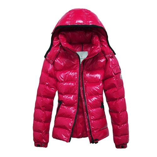 Moncler Fashion Bady Quilted Hooded Down Rose Jacket Women