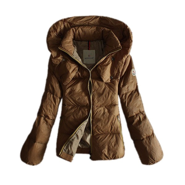 Moncler Fashion Camel Coat Women