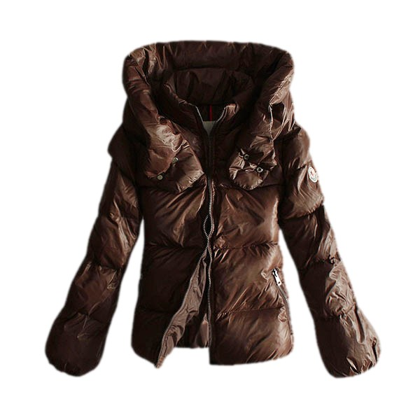 Moncler Fashion Coffee Coat Women