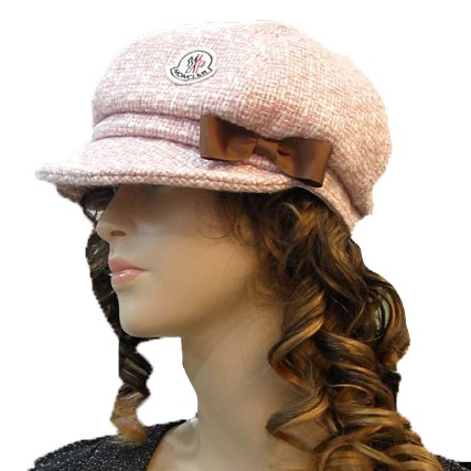 Moncler Fashion Pink Cap