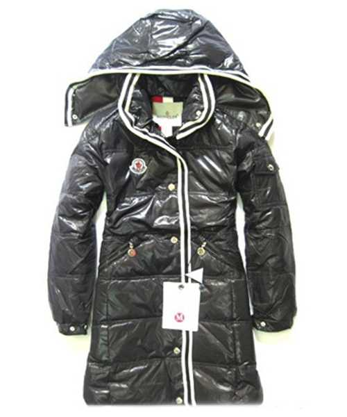 Moncler Featured Down Coats Women With Hood Zip Black