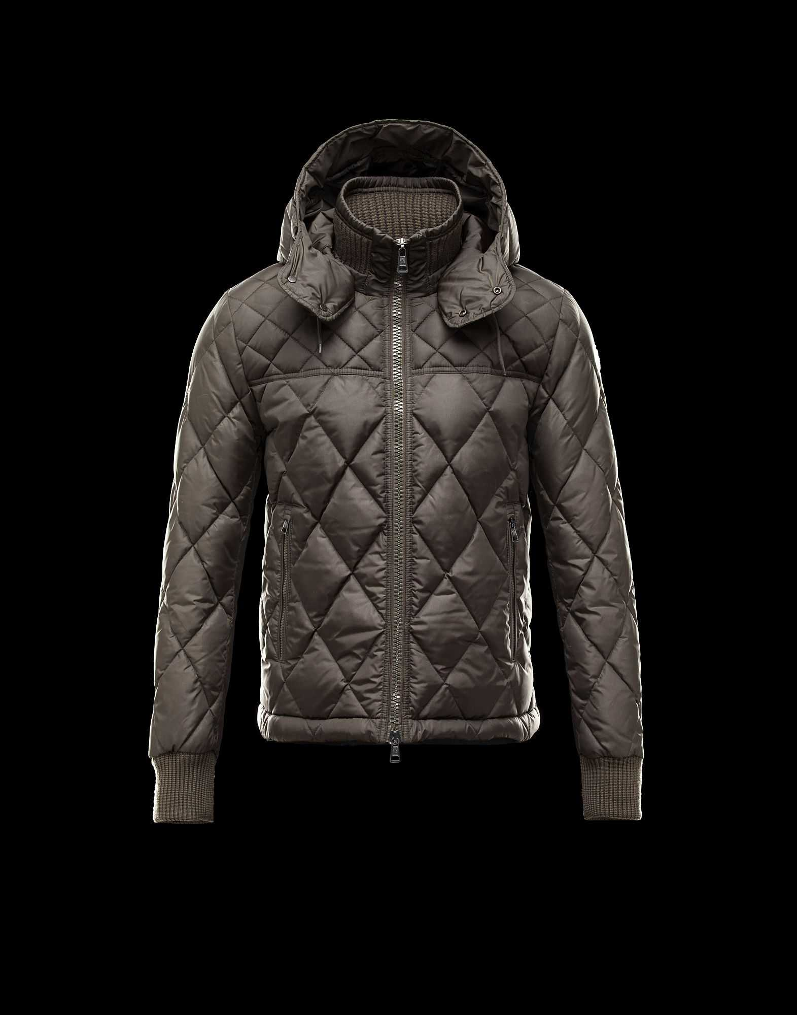 Moncler GIRARDOT Fashion Down Jackets Mens Dark Green