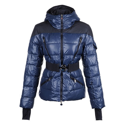 Moncler Gaelle Down Blue Jacket Women