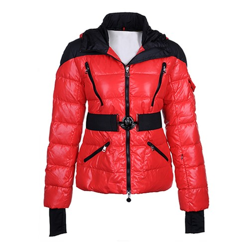 Moncler Gaelle Down Red Jacket Women