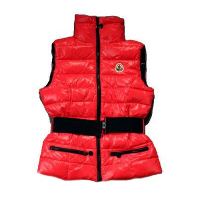 Moncler Gaelle Down Red Vest Women