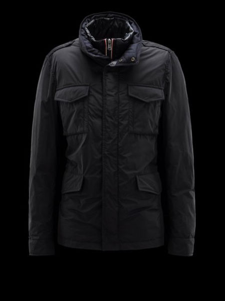 Moncler HectGold Down Jacket Coats Black