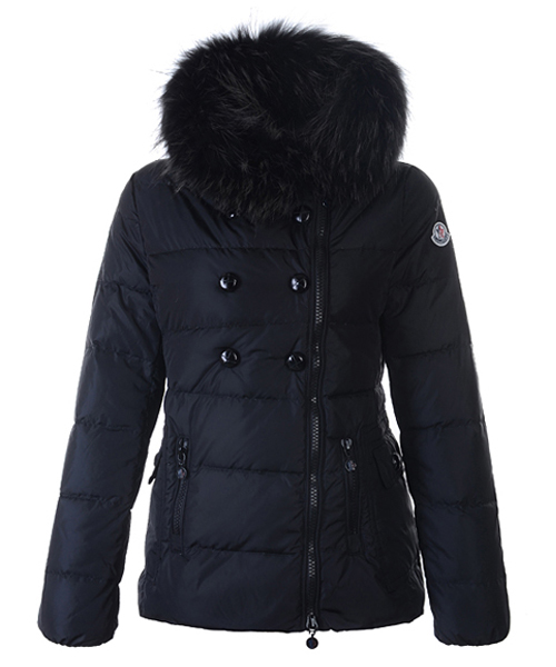 Moncler Herisson Fashion Womens Jacket Short Black