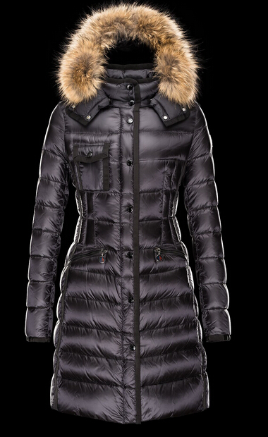 Moncler Men's Fur Hoody Winter Coat Women Parka