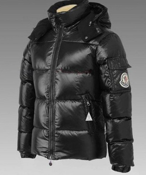 Moncler Himalaya For Mens Down Jackets Black