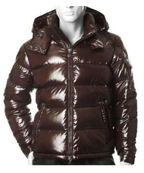 Moncler Himalaya For Mens Down Jackets Dark Brown