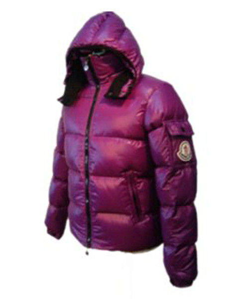 Moncler Himalaya For Mens Down Jackets Dark Purple