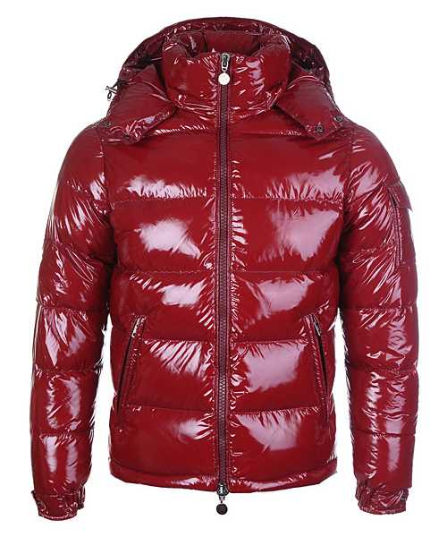 Moncler Himalaya For Mens Down Jackets Dark Red