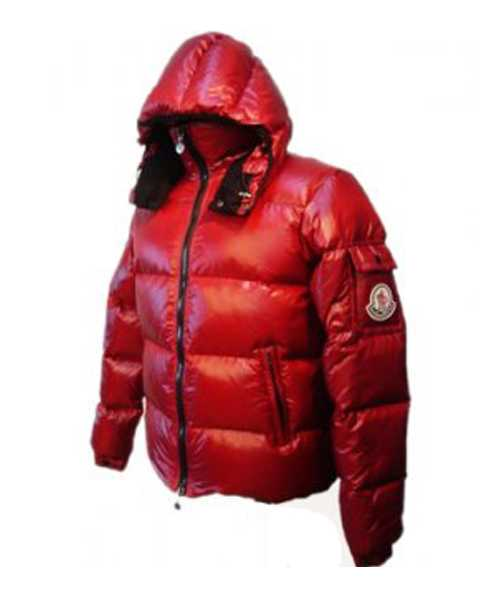 Moncler Himalaya For Mens Down Jackets Red