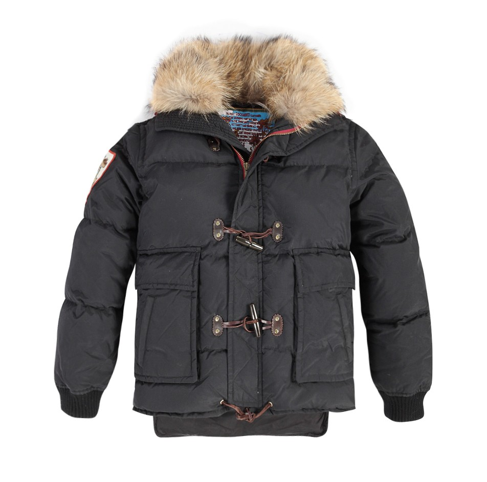 Moncler Himalayas Down Black Jacket Men