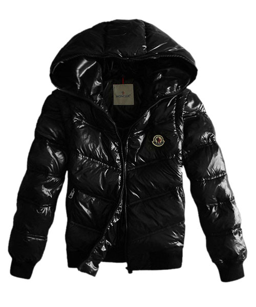 Moncler Jacket Men Detachable Sleeve Black