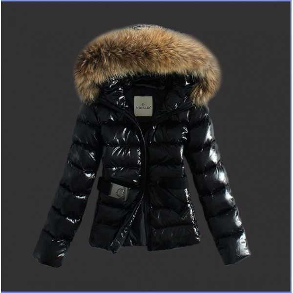 Moncler Jackets Angers Black