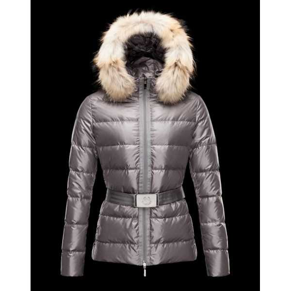 Moncler Jackets Angers Women Grey