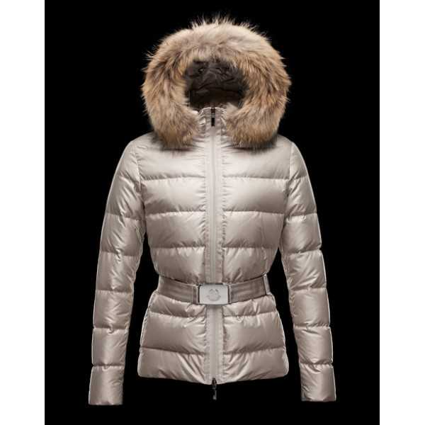 Moncler Jackets Angers Women Grey Light