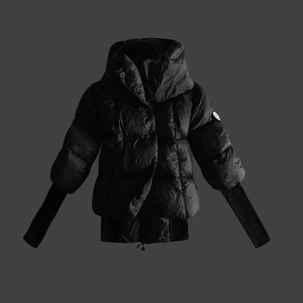 Moncler Jackets Bellow Black